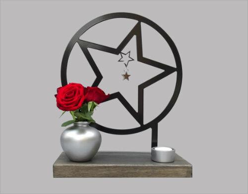 Gedenkbeeld ster