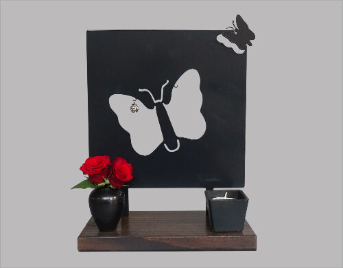 Gedenk beeld vlinder