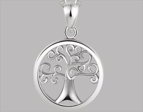 ashanger levensboom zilver