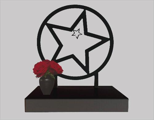 Grote urn met ster afbeelding