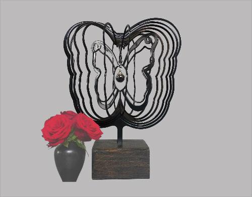 aparte urn vlinder