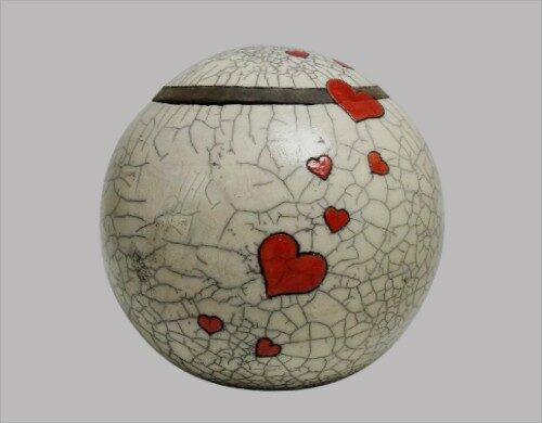 Grote urn van keramiek