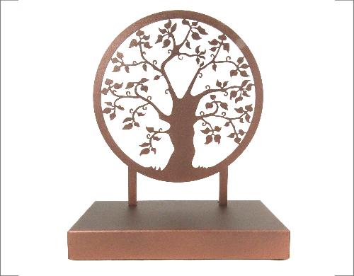 Moderne urn levensboom