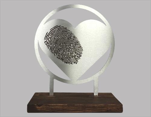 vingerprint gedenkbeeld