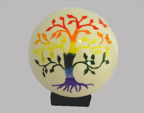kunstzinnige urn levensboom